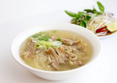 Tendon brisket rice noodle soup