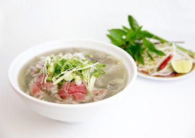 Special rice noodle soup
